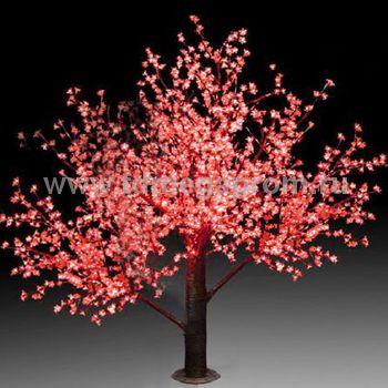 """Светодиодное дерево """"Сакура""""  LED-CBL-3.6-2688-R (арт.30)"""