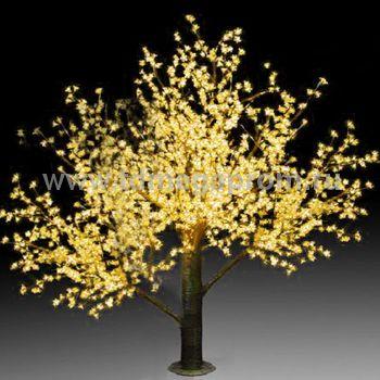 """Светодиодное дерево """"Сакура""""  LED-CBL-3.6-2688-Y (арт.30)"""