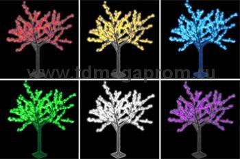 """Светодиодное дерево """"Сакура""""  LED-CBL-1.9-972-RGB  (арт.30-5895)"""