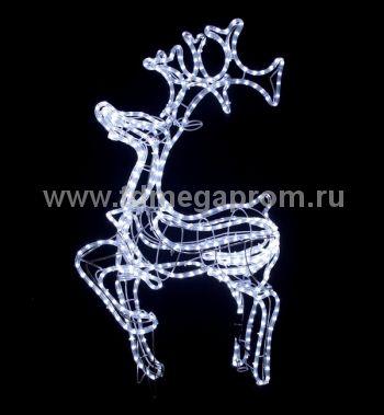 """Объемная фигура  """"ОЛЕНЬ 3D""""   LED-MPD-013  (арт.30-3466)"""