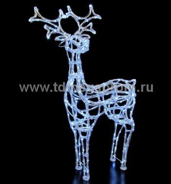 """Объемная фигура  """"ОЛЕНЬ 3D""""   LED-MPD-018  (арт.30-5491)"""