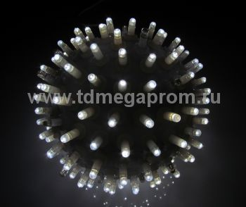 "Объемная фигура ""ШАР""  LED-MPB-016-W/W  (арт.30-5511)"