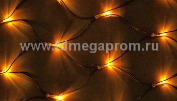 Сеть светодиодная LED-MPN-288-2x1.5М-Y    (арт.30)