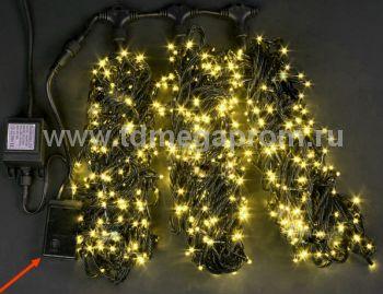 Гирлянда светодиодная  с контроллером  LED-MPS-T3x20-24V-Y    (арт.31/33-5618)