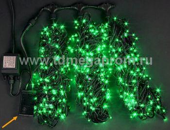 Гирлянда светодиодная  с контроллером  LED-MPS-T3x20-24V-G    (арт.31/33-5620)