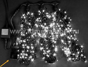 Гирлянда светодиодная  с контроллером  LED-MPS-T3x20-24V-W    (арт.31/33-5621)