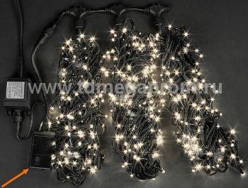 Гирлянда светодиодная  с контроллером  LED-MPS-T3x20-24V-WW    (арт.31/33-5622)