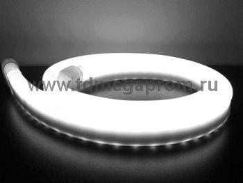 Гибкий неон  LED Neon Flex  LN(H)-FX-50M-24V-W    (арт.32-2694)