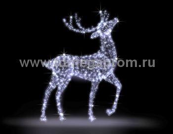 """Светодиодная конструкция большая """"Олень""""  LED-MKS-501 (арт.35)"""