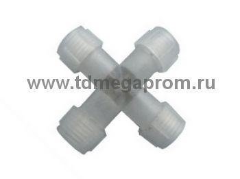 X-коннектор для LED-XD-3W (круглого трехпроводного дюралайта чейзинга)      (арт.30-4023)