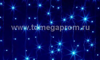 Занавес светодиодный  мерцающий  LED-PL(F)-2x1.5M-220V-B   (арт.31/30/32/33-5613)