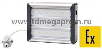 Взрывозащищенный светодиодный светильник LED-УСС-18 (DC12-55/AC10-38)  (арт.521)