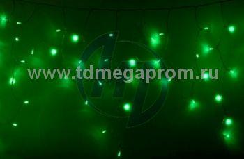 Бахрома светодиодная мерцающая  LED-MPI(F)-3M/0.9-220V-G   (арт.31-8994)