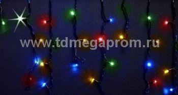 Бахрома светодиодная мерцающая  LED-MPI(F)-3M/0.9-220V-RGBY   (арт.31-8997)