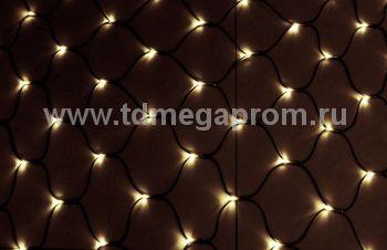 Сеть светодиодная LED-MPN-2.5M/1.22M-220V-WW   (арт.32)