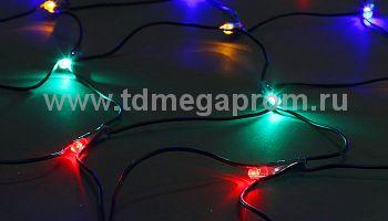 Сеть светодиодная  с контроллером  LED-MPN-(С)-288-2x1.5М-RGBY  (арт.30)