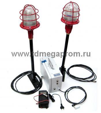 Автономная система временного светового ограждения на АКБ (ВСО-18)  (арт.09-526)