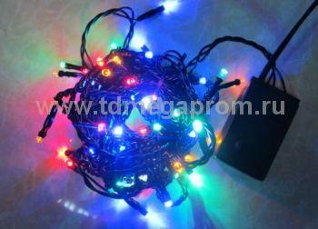 Гирлянда светодиодная  LED-SKS-5M-220V-RGBY-C   (арт.99-3323)