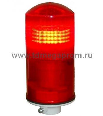 Светодиодный заградительный огонь ЗОМ-ЛСД (поликарбонат, компактный)  (арт.01)