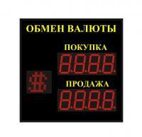 Уличное табло обмена валют р 8х1хп 110