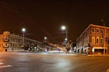 Энергосберегающее освещение городских улиц,