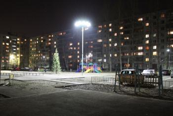 Светодиодное освещение детской площадки