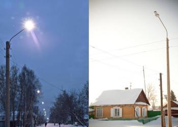 Светодиодное освещение улицы (LED