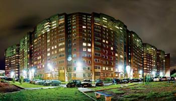 Светодиодное освещение придомовой территории