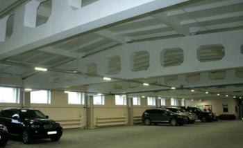 Промышленное светодиодное освещение паркинга
