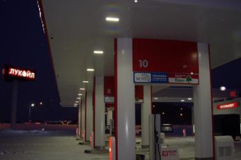 Промышленное светодиодное освещение АЗС