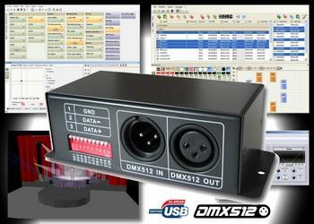 DMX контроллеры и декодеры RGB