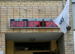 Уличная электронная метеостанция Время/Дата-Температура/Давление-Влажность/Радиация