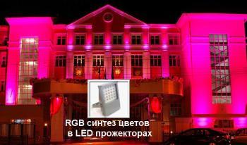 RGB технологии синтеза цвета