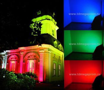 Архитектурная подсветка с использованием