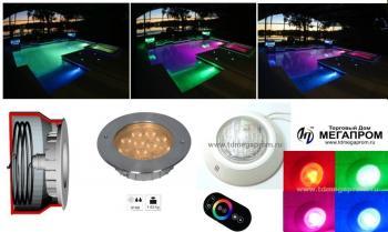 Пример RGB цветной подсветки