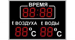 Табло для бассейна200х8b_2t
