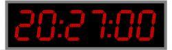Часы для бассейна270x6b