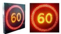 """Светодиодный дорожный знак """"Ограничение максимальной скорости"""" (арт.78)"""