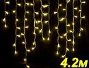 Бахрома светодиодная  LED-SKI-4.2M/0.8-220V-Y