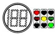 Модуль светодиодный светофорный СТЖ-В-300RG-199 (запрещающий-разрешающий)