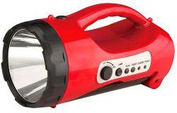 Светодиодный аккумуляторный фонарь САФ-4 лампа/радио