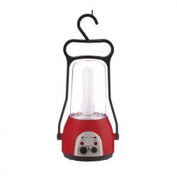 Ламповый аккумуляторный фонарь  ЭЛАФ-2 радио