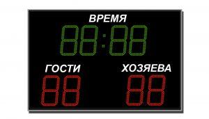 Табло спортивное универсальное ТС-У-8  (арт.03)