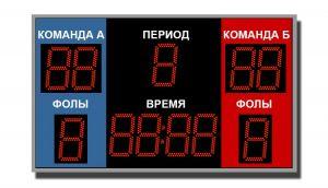 Табло спортивное универсальное ТС-У-6