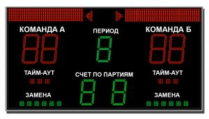 Табло для волейбола ТС-В-8 (арт.03)