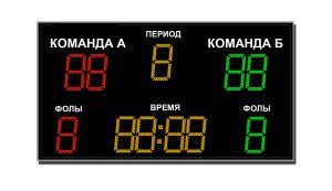 Табло для баскетбола ТС-Б-2 (арт.03)