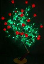 """Светодиодное дерево """"Куст красной Розы""""  LED-IMD-009 (арт.30)"""